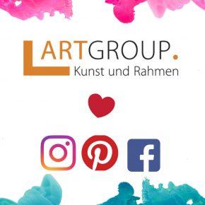 Wie Social Media die Kunstwelt verändert - ART GROUP Kunst und Rahmen